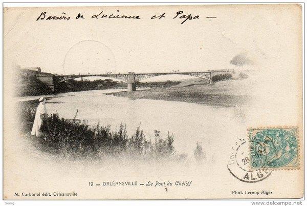 Орлеансвиль мост через Шелиф