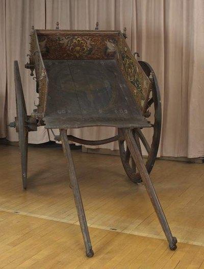 Сиц повозка 19 век селбская честь компьень