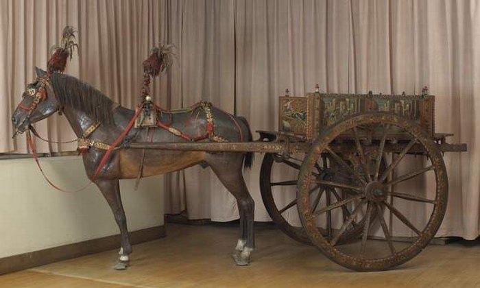 Сиц повозка 19 век сельская честь компьень3