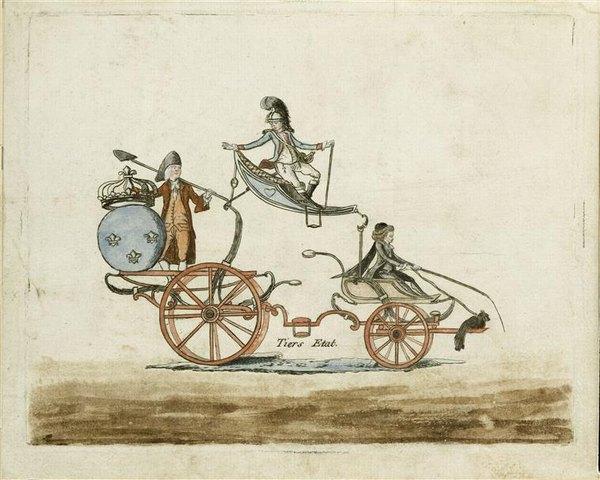 Повозка 3 сосл ед в Версаль 18 в  Версаль