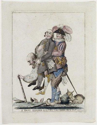 Надо надеяться эта игра скоро закончится 1789 лувр
