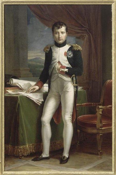 Наполеон 1812 Жерар Музей острова Экс в мундире полковника  гв пеших  гренадеров