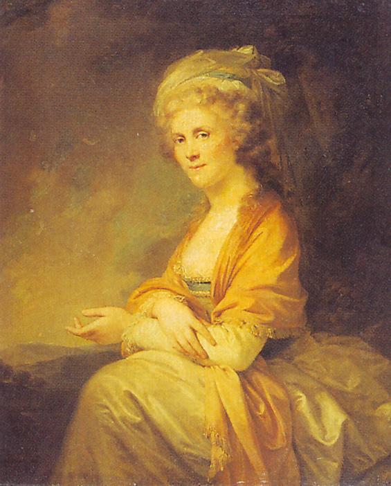 Строганова Екатерина Петровна 1793 Лампи Рус муз