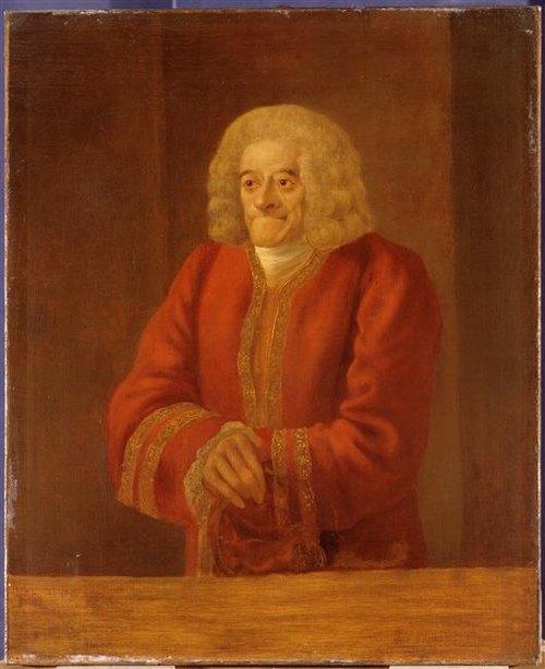 Вольтер в пожилые годы 18 в Ж Юбер Версаль