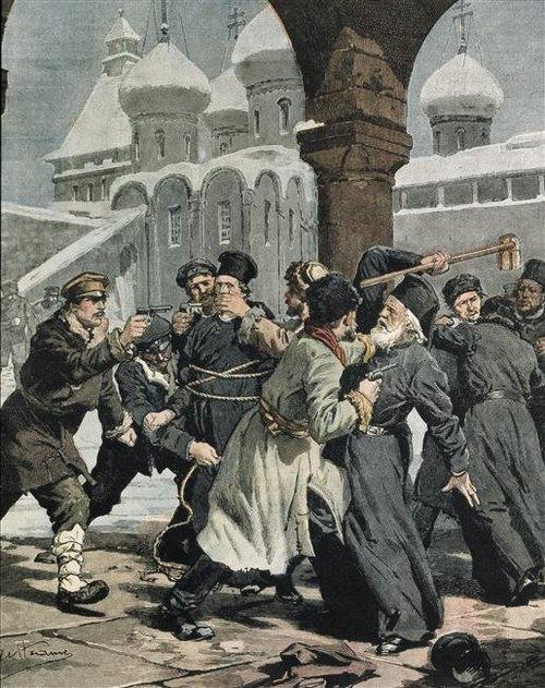 монастырь взят штурмом революционерами 1905 А бельтраме берлин BPK