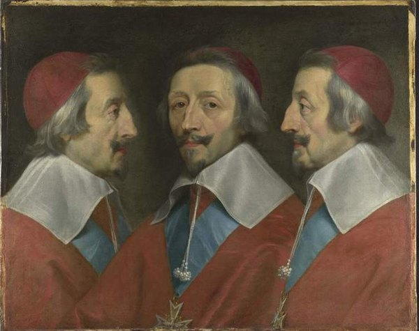 Ришелье 1642 Филипп де Шампень Нац гал2ерея Лондон