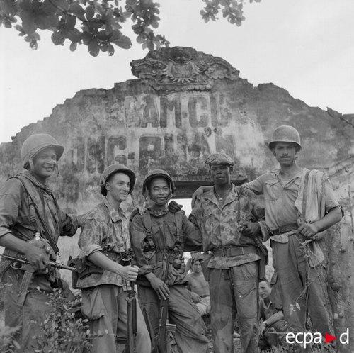 Операция Камелия май 1953 П Феррари