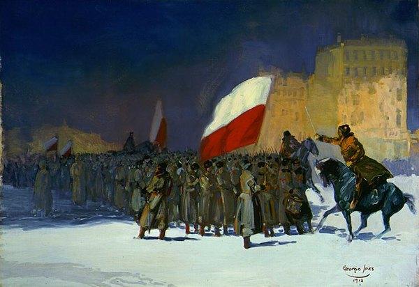 Чехосл армия входит во ВАладивосток 1918 Джордж Лакс Лос анжелес кантри музей