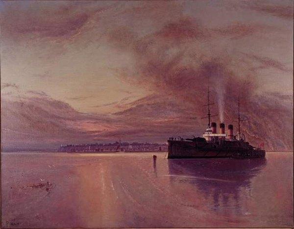 Крейсер Потемкин на Рейде в Одессе 20 Bluth Manfred част кол