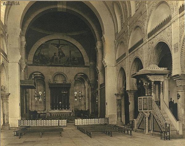 Алжир Собор в 1890
