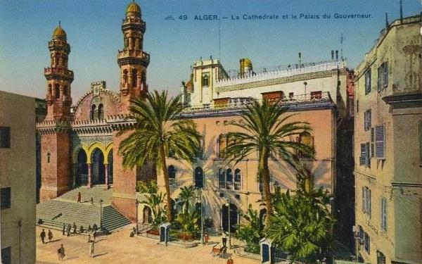 Алжир собор св Филиппа и дворец правительства
