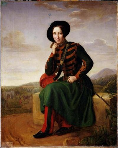 мадам брю марк в 7 гусарском полку 1837 неиз муз армии