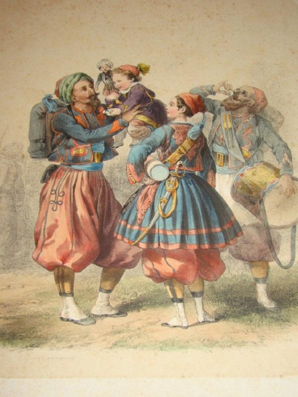 марк и зуавы 1855