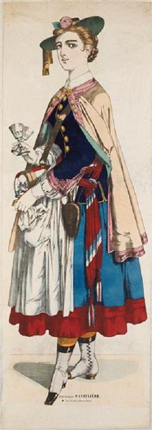 маркитантка 1860 1870 муз цив