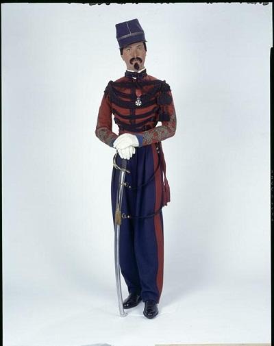 капитан спаги в парадной форме 1848