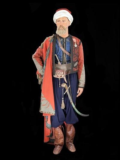 подполковник спаги в парадной форме 1838 18392