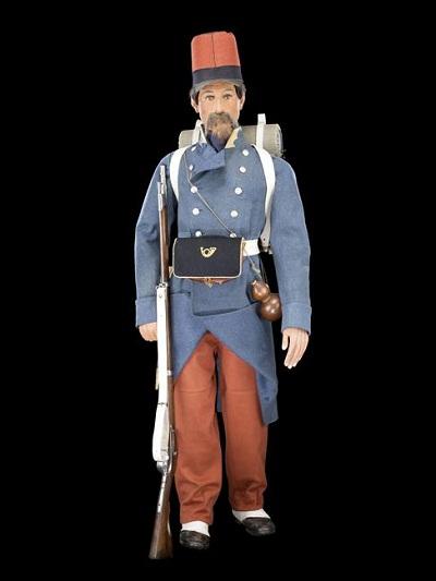 стрелок легкой пехоты 1835
