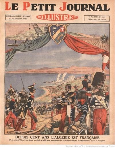 Празднования 100-летия завоевания Алжира.