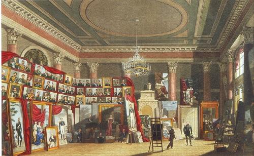 Александр I в мастерской Доу 1826 Беннет и Райт  по ор Мартынова Эрмитаж