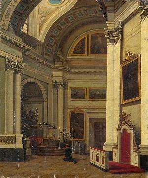 Александр в соборе перед отъездом 1 сент 1825