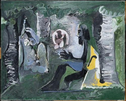 Завтрак на траве по ор Мане 27 07 1961 Пикассо Музей Пик в Париже