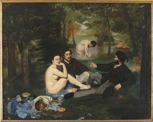 Завтрак на трае 1863 Э Мане Орсе