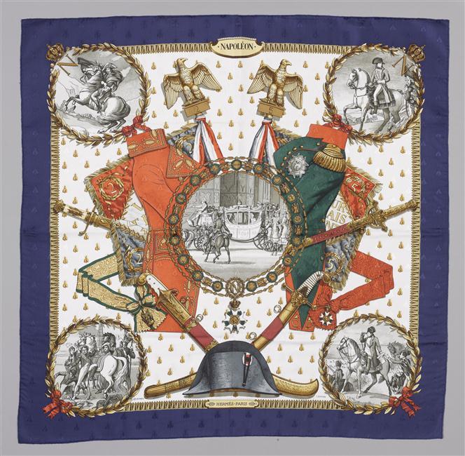 Платок Восп Наполеона Нап на св Елене 20 в Мальмезон