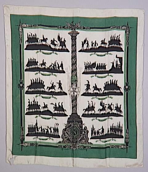 Платок Победы Наполеона а 20 к Гермес Мальмезон