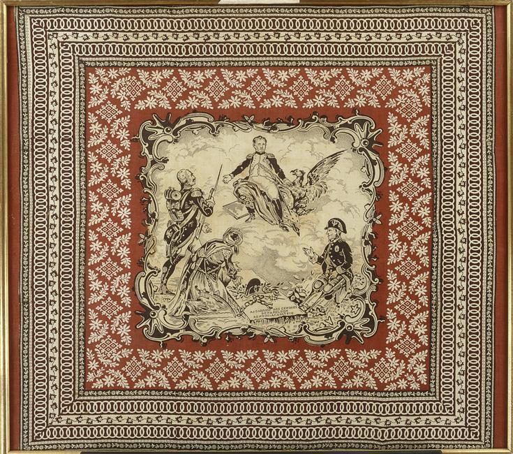 Платок Прах Нап вохвращен на родину ок 1840 частн кол