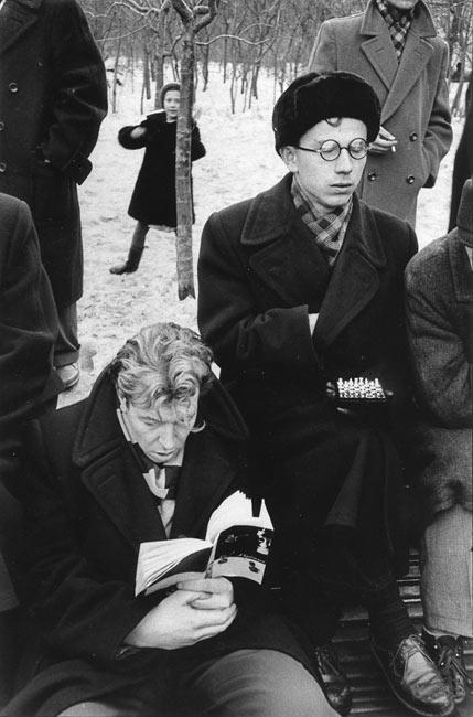 В парке Горького 1960