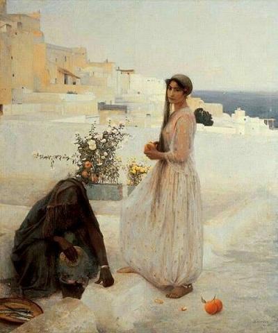Женщина Алжира на террасах Менье Ж-А.jpg