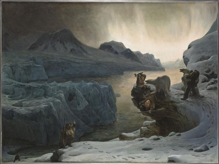 Норв охотники на Шпицбергене 1876.jpg