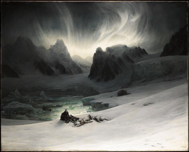 Полярное сияние на севере Шпицбергена 19 в.jpg