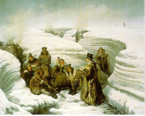 Пастор Laestadius настлапландцев ок 1840.jpg
