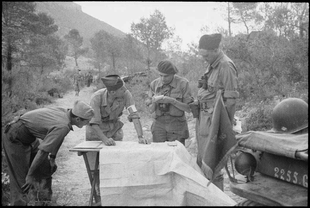 Освобождение Прованса. Август 1944.