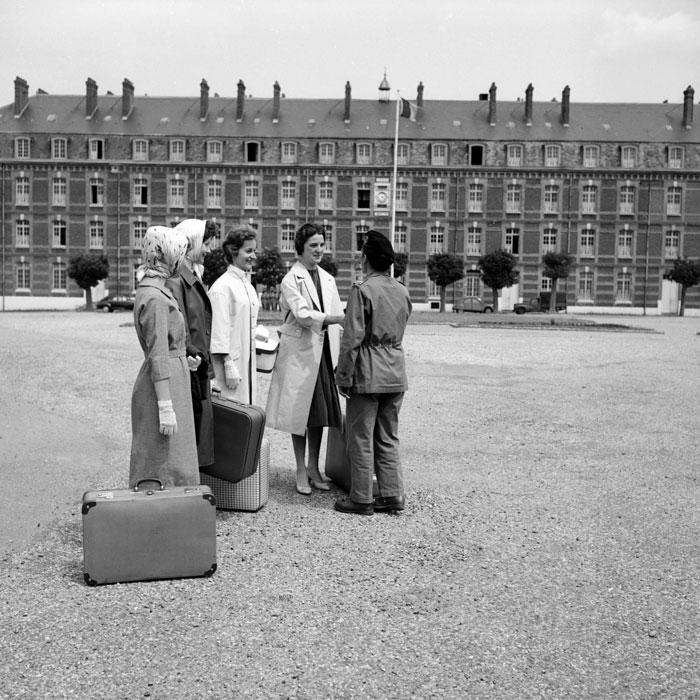 Прибытие новобранцев июнь 1954  Бланкар.jpg