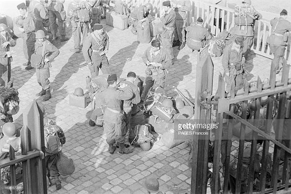 Прибытие призывником на корабле Город Оран 14 июня 1956 Франсуа Паж илиПажес 4.jpg