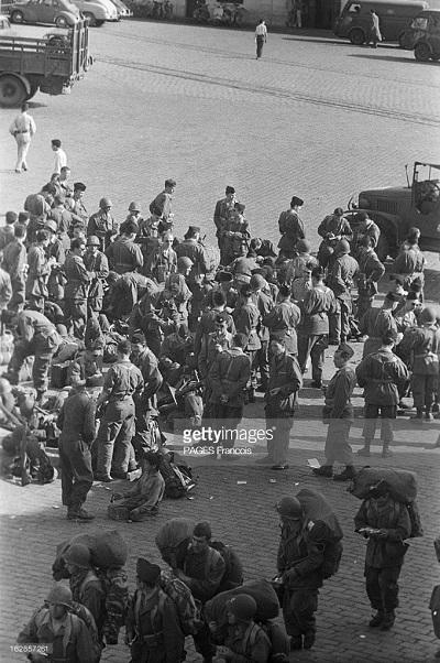 Прибытие призывником на корабле Город Оран 14 июня 1956 Франсуа Паж илиПажес 11.jpg