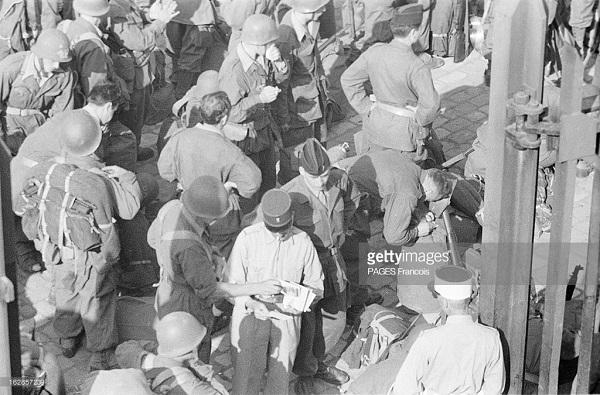 Прибытие призывником на корабле Город Оран 14 июня 1956 Франсуа Паж илиПажес 12.jpg