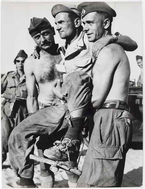 Операция Атланта Смотрите куда ставите ноги - ценный совет 14 марта 1954 Фернан Жантиль муз армии.jpg