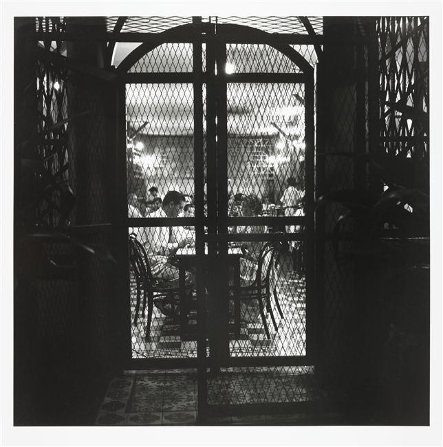 Ресторан решетка от терракта 1952 Вилли Риццо Муз арм.jpg
