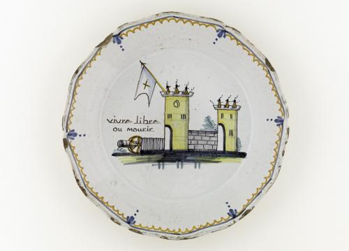 Взятие Бастилии 18 в тарелка Карнавале.jpg