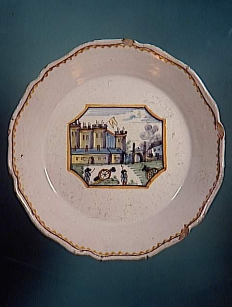 Взятие Бастилии тарелка 18 в Амьен муз Пикардии.jpg