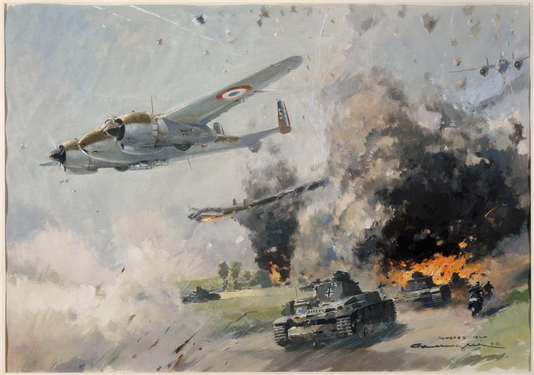 Брегеты в битве на Тонгре  май 1940 П Ланделле.jpg