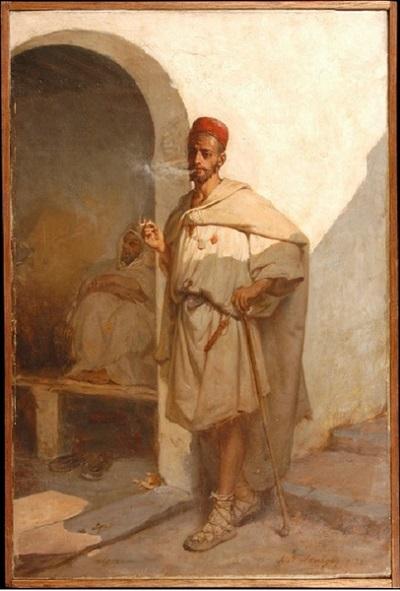 мавр кафе в гор Алжир 1878 И Лазерж.jpg