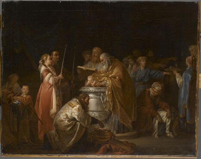 Русское крещение 1765 Ж Б Лепренс Лувр.jpg