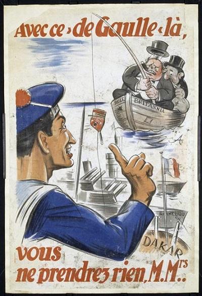 С де Голлем у вас ничего не выйдет 1940 Муз армии.jpg