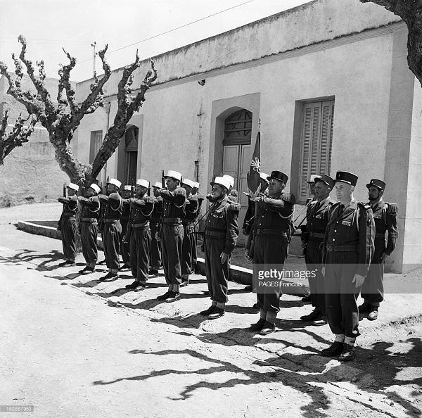 Парад солдат Иностранного Легиона.