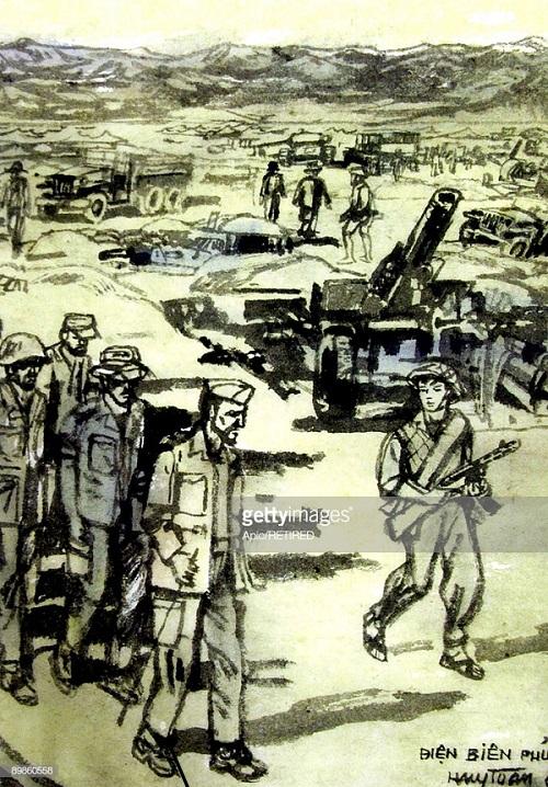 Фр сдаются в плен 7 мая 1954 1960 Huy Toan.jpg
