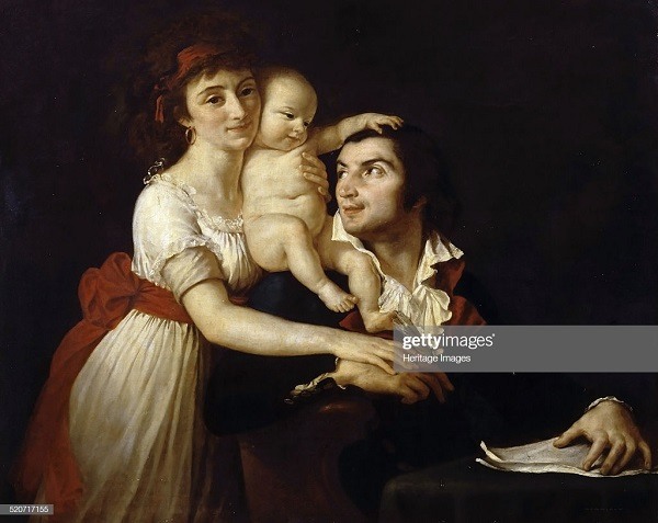 демулен с семьей Давид Версаль.jpg